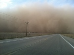 Dust Cloud 2013.Apr 22 - north of Campo, CO - 1