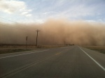 Dust Cloud 2013.Apr 22 - north of Campo, CO - 2